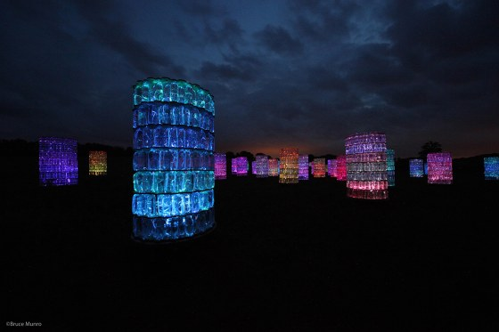 Water Towers - Bruce Munro